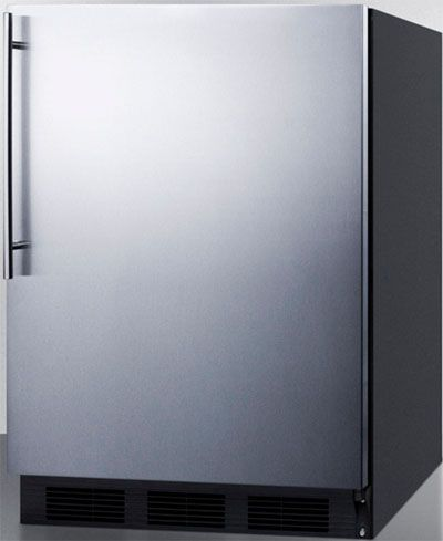 Summit AL652BBISSHV ADA Compliant Built In Undercounter Refrigerator Freezer