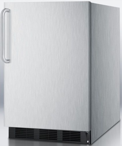 Summit ALB653BCSS ADA Compliant Built In Refrigerator Freezer With Cycle Defr