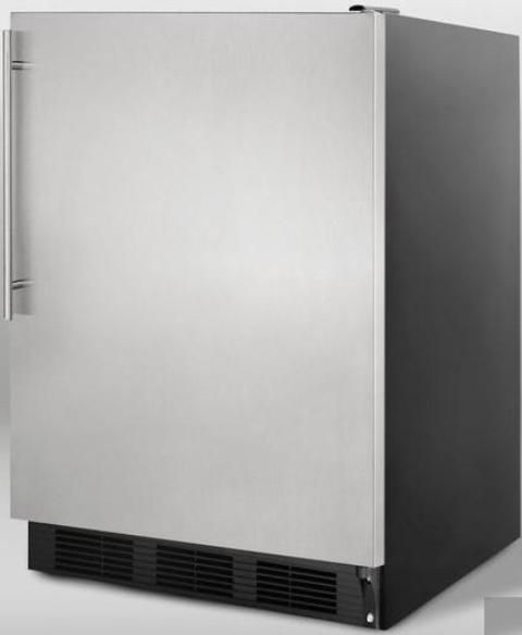 summit al752bbisshv compact all refrigerator with. Black Bedroom Furniture Sets. Home Design Ideas
