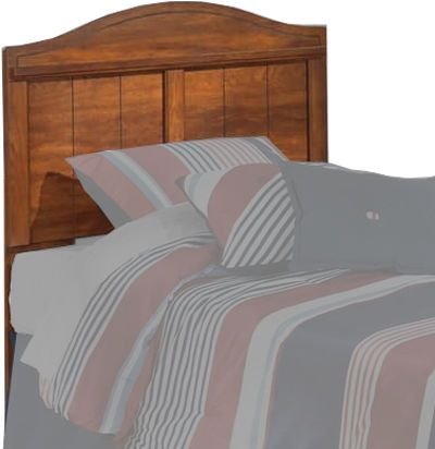 Ashley B228-53 Barchan Series Twin Panel Headboard, Replicated warm brown Timber Cherry grain, Model B100-11 or B100-12 roll slats can be used in substitution for a box spring on the twin or full panel beds, Dimensions 41.89