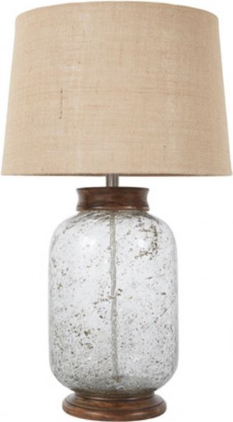 Ashley L430204 Shaunette Series Glass Table Lamp Hand Blown Seeded