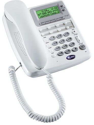 At Amp T 01339 Model 950 Speakerphone Telephone White Single