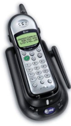 At T 1445 Cordless Phone With Caller Id Call Waiting Caller Id 2 4ghz Handset Volume Control
