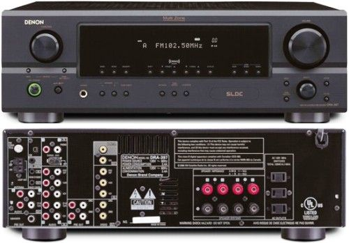 Denon Dra 397 Am Fm Stereo Multi Source Multi Zone Stereo