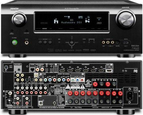 Denon AVR-991 Advanced 7 2 Channel Audio/Video Home Theater