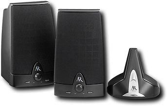 Acoustic Research Aw871 Wireless Speaker System Stereo