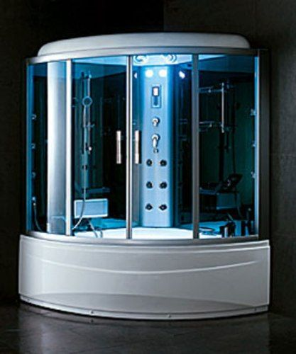 Royal Ssww B610 Steam Shower Unit Computer Control With Remote Controller Radio Telephone