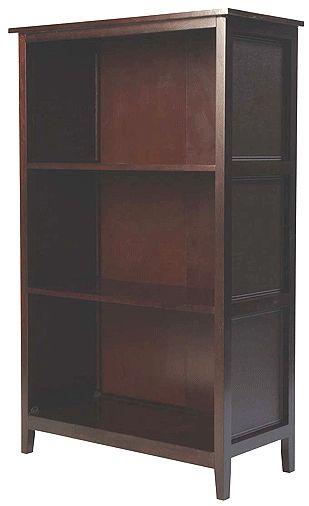 Leda B0l05ves Model L05 Bookcase 3 Large Shelves