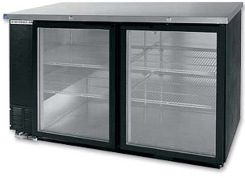 Beverage Air Bb58g 1 B Back Bar Storage Cabinet With Glass