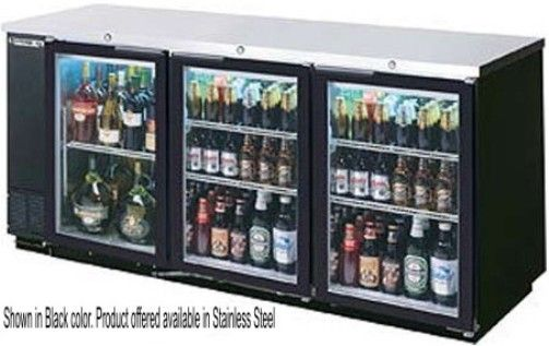 Beverage Air BB72G-1-S Back Bar Storage Cabinet with Glass Door ...