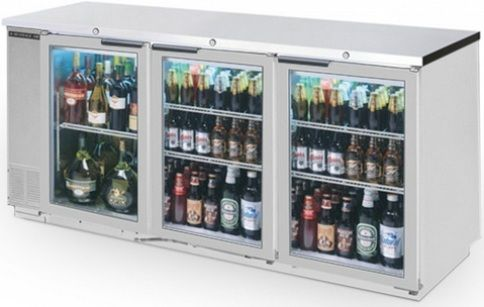 Beverage Air Refrigerator Beverage Air Bb72gy 1 s Back