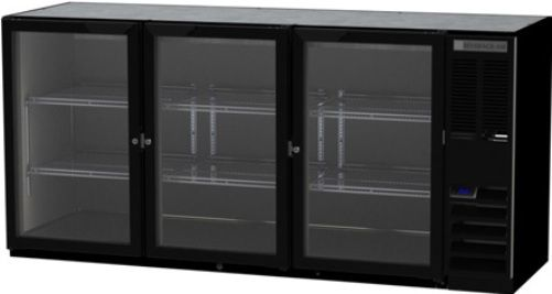 Beverage Air BB72HC-1-FG-B Refrigerated Food Rated Back Bar Storage Cabinet, 72