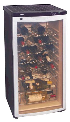 Haier Bc112g Wine Cellar 30 Bottle Capacity Security
