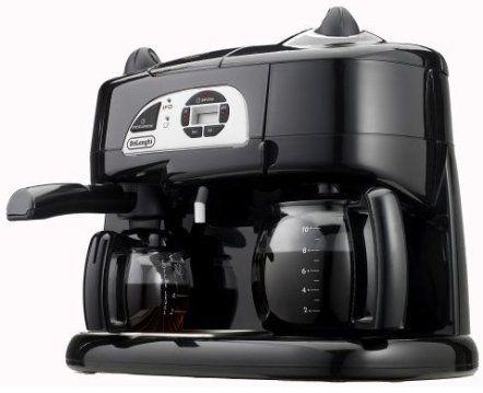 Water Cooler Coffee Maker Combo : DeLonghi BCO130T Combination Coffee/Espresso Machine, Adjustable steam emission for espresso or ...