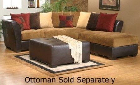 Terrific Mira Home Furnishings Bethany 3Pc Sectional Bethany 3 Piece Evergreenethics Interior Chair Design Evergreenethicsorg