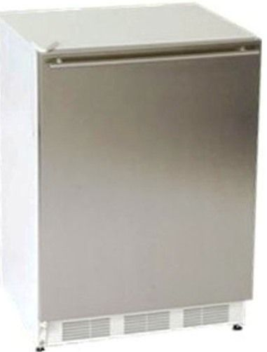 Summit BI540SSHH Under Counter Built In Refrigerator Freezer 24 Inch Wide W