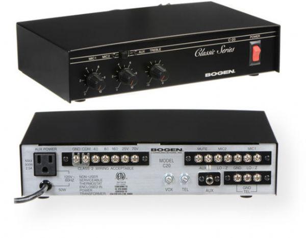 Bogen C20 Classic Series Public Address Amplifier  20w
