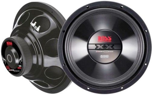 boss audio cx8 chaos exxtreme 8 stand alone subwoofer. Black Bedroom Furniture Sets. Home Design Ideas