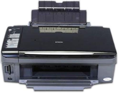 epson stylus cx7400 not printing black