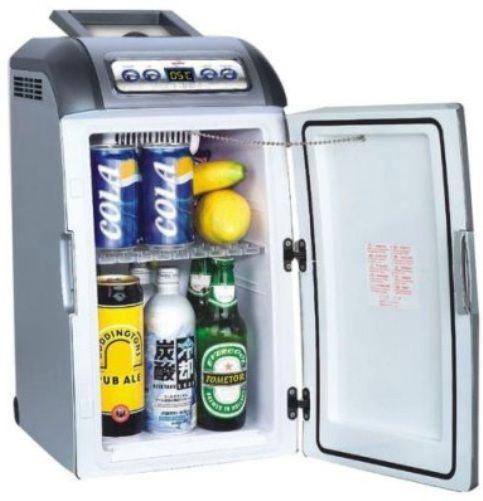 Koolatron C18 Silver Thermoelectric Cooler Warmer, Portable Cooler ...
