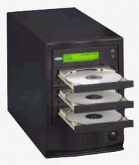 ZipSpin C-216DL4-DF-H Tracer Pro 216 2-Drive DVD+/-R DL Tower Duplicator, Two Pioneer 108 Dual Layered, Dual Format,16x DVD-R, 16x DVD+R, 32x CD-R, 80Gb Hard Drive, Standalone, USB 2.0 Connect Included (C216DL4DFH, C216DL4-DF-H, C-216DL4DF-H, C-216DL4-DFH)