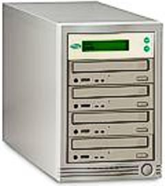 ZipSpin C452 CD Tracer Tower, Standalone, Four 52X Writers (C-452, C 452, CONC452, CON-C452)