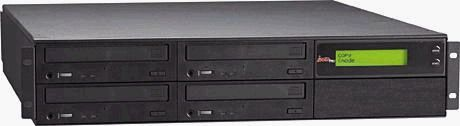 ZipSpin C452RM-BLK CD Tracer Rackmount, Standalone, Four 52X Writers, 1 Reader, 2U, Black (C452-RM-BLK, C-452RMBLK, C-452-RM-BLK, C452)