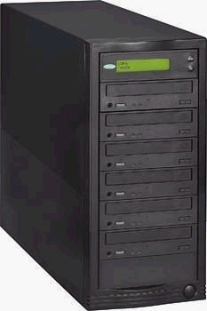 Condre C652-BLK CD Tracer Tower, Standalone, Six 52X Writers, Black (C652BLK, C652-BLK, C-652-BLK, C652)