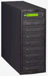 Condre C-916DL4-DF-H Tracer Pro 916 9-Drive DVD+/-R DL Tower Duplicator; Nine Pioneer 108 Dual Layered, Dual Format,16x DVD-R, 16x DVD+R, 32x CD-R, 80Gb Hard Drive, Standalone, USB 2.0 Connect Included (C916DL4DFH, C916DL4-DF-H, C-916DL4DF-H, C-916DL4-DFH)
