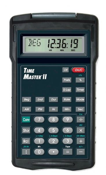 calculated industries 9130 time master ii calculator for pilots