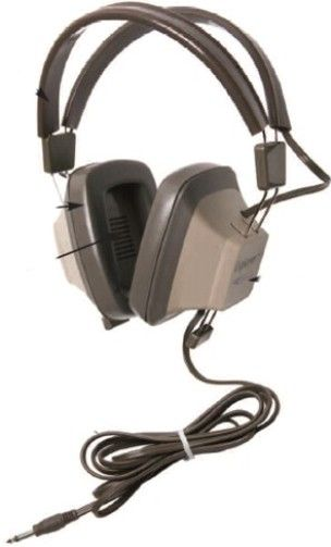 Califone EH-2 Explorer Binaural Headphone, 3.5mm mono plug, Response Bandwidth 20 - 17000 Hz, Sensitivity 111dB, Impedance 130 Ohms, Mylar Diaphragm, Rugged plastic headstrap with recessed wiring for safety, Steel-reinforced dual headstraps are fully adjustable to comfortably fit younger students and adults, UPC 610356831243 (CALIFONEEH2 CALIFONE-EH2 EH1 EH 2)