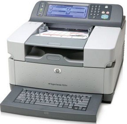 Hp Hewlett Packard Cb472a Aba Model 9250c Digital Sender Doent Scanner 8 Bit 256 Colors Color Depth 600 Dpi X Optical Resolution