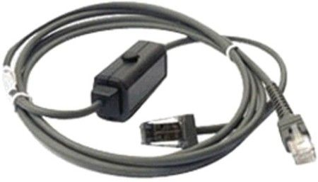 Motorola Symbol CBA-M01-S07ZAR Straight Cable 7-foot fits with IBM 468x/9x port 9B (CBAM01S07ZAR CBAM01-S07ZAR CBA-M01S07ZAR)