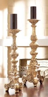 CBK Styles 37138 Casa Cristina Collection Two Piece Candle Holder