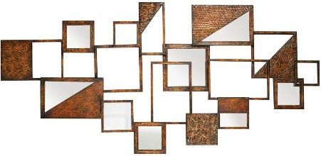 Cbk Styles 43928 Mirror Wall Decor Square Rectangular Shaped