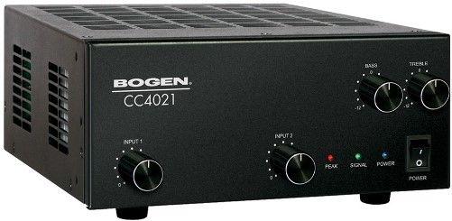 bogen cc4021 compact mixer amplifier 40 watts of output. Black Bedroom Furniture Sets. Home Design Ideas