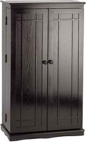 leslie dame cd 612b mission front multimedia storage rack black finish holds 612 cds 298 dvds or 148 video cassettes hand crafted furniture quality cds furniture