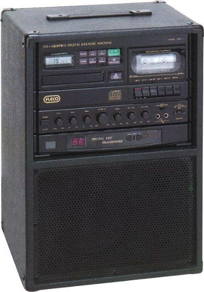 Fleco Cdg 20 Single Cd Graphic Amp Cassette Karaoke Machine