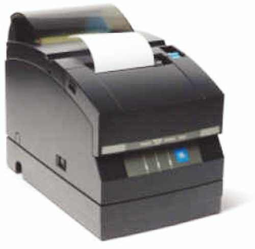 Citizen CD-S501AUBU-BK Model CD-S500 Dot Matrix High-Speed Impact Printer, USB Interface with Cutter, High-speed printing, Drop-in paper handling, Logic-seeking control, Selectable paper width, Two color printing, Black Color, Bi-directional Printing Direction, 76/69.5/57.5mm paper Print Width, 40 lines/sec. Line Feed Speed (CDS501AUBUBK CD-S501AUBU CDS501AUBU CD-S501 CDS500 CD S500)