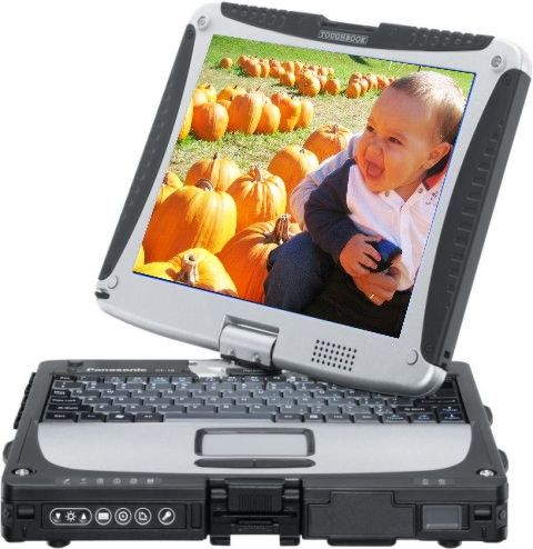 Panasonic CF-19RFRCX1M Toughbook Tablet PC, Intel Graphics