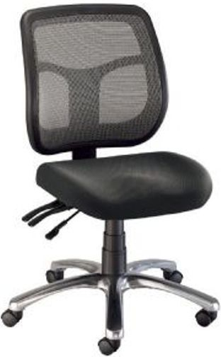 alvin ch728 45 argentum mesh back office chair black height