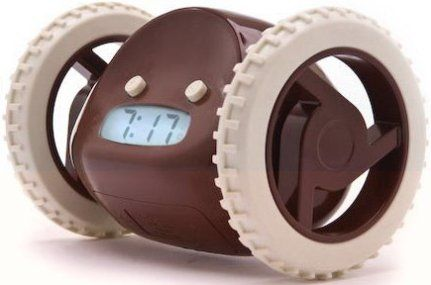 nanda clkyc model clocky mobile alarm clock set your snooze time 09 minutes snooze once before he runs away choose 0 and he runs right away
