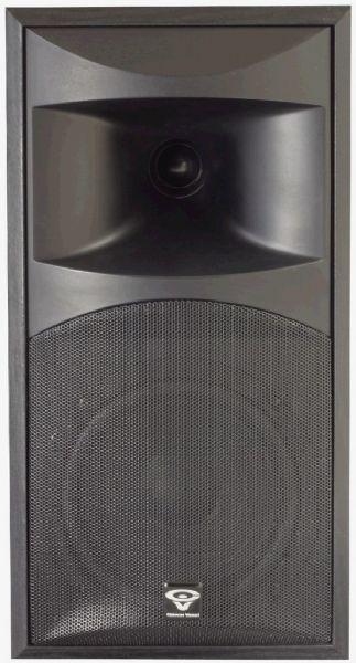 Cerwin Vega CLSC 6 65 2 Way Bookshelf Speaker Black CLS C6 CLSC6 LS 6C LS6C