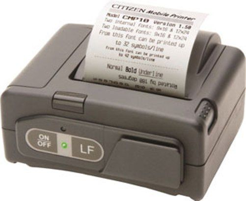 Citizen CMP-10BT POS Bluetooth//IR Thermal Printer