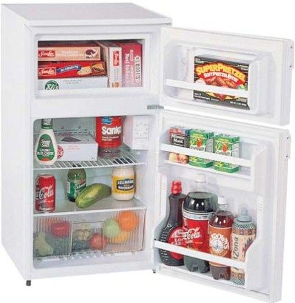 Summit Cp35llmed Compact Refrigerator With Manual Defrost