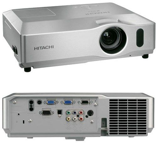 Hitachi CP-X400 Multimedia LCD Projector, 3,000 ANSI lumens, Resolution Video 540 TV lines, Resolution RGB 1024 Dots X 768 Lines, Contrast ratio 400:1, Aspect ratio Native 4:3/16:9 compatible, 7.7 lbs., Side-Mounted High Performance Filter, 2 RGB Inputs (CPX400 CP X400 CPX-400 CPX 400)