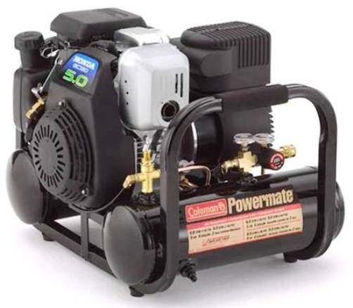 Coleman powermate ct5090412 contractor series gas air for 5 hp motor weight