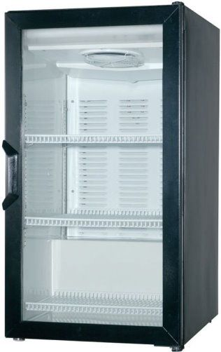 Incroyable Beverage Air CT96 1 B LED Countertop Glass Door Refrigerator Merchandiser  With LED Lighting, 6.8 Cu.ft. Capacity, 1/5 Horsepower, Depth With Door  Open 90 O ...