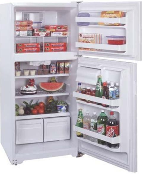 summit ctr15 top freezer refrigerator with adjustable wire. Black Bedroom Furniture Sets. Home Design Ideas
