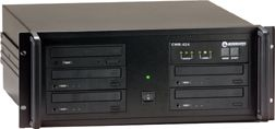 Microboards CW PRO-452RM CopyWriter PRO, Rackmount, 4(52X) Recorders, 1 Reader, 20GB, LCD Display, Black Case (CWPRO452RM, CW PRO 452RM)